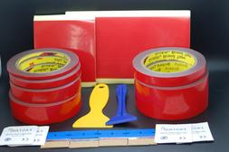 3M™ VHB™ 4611 DOUBLE SIDED TAPE BUNDLE PREPARATION TOOLS