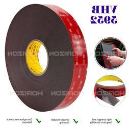 3M VHB Double Sided Acrylic Foam Adhesive Tape Heavy Duty Mo