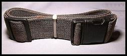 Web Belt for Tools Holsters Backpacking Heavy Duty Brown Dut