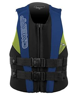 O'Neill Wetsuits Wake Waterski Child USCG Life Vest, Pet/Col