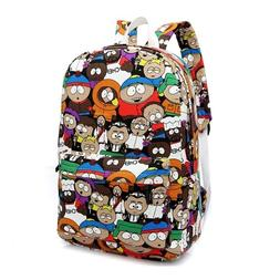 Women Cartoon Canvas Backpacks Student Book Bags College Hig