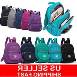 Women School Backpack Laptop Bag Girl Mochila Feminina Nylon