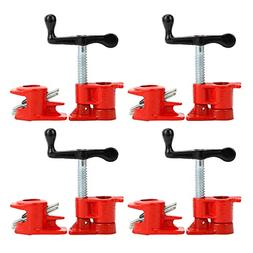 """NEW  3/4"""" Wood Gluing Pipe Clamp Set Heavy Duty PRO Woodwork"""