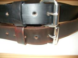 WORK BELT.HEAVY DUTY REAL LEATHER TOOL.HOLSTER. GUN HAND MAD