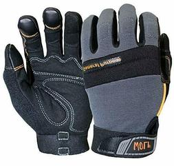WOLF Work Gloves Mechanic Glove Heavy Duty All-purpose Stret