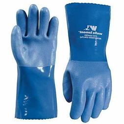 Wells Lamont Work Gloves with Gauntlet Cuff and Cotton Linin
