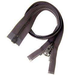 Zipper, Black #10 YKK Brand Separates at the Bottom, Marine